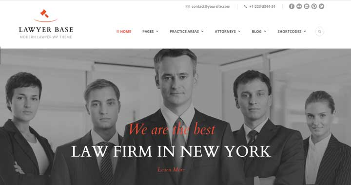 Lawyer-Base-Theme