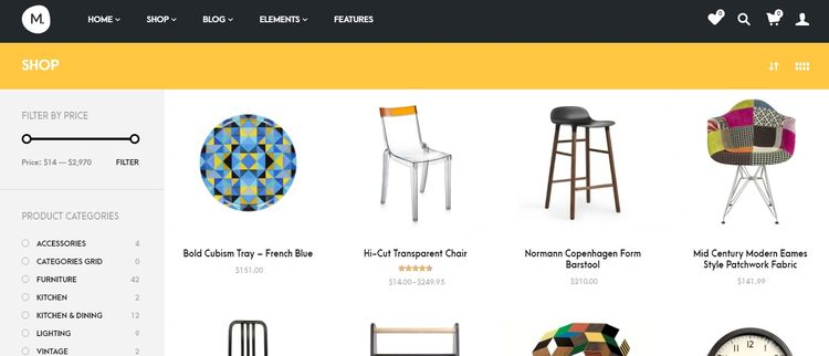 theme wordpress ecommerce