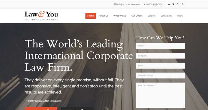 theme wordpress para abogados